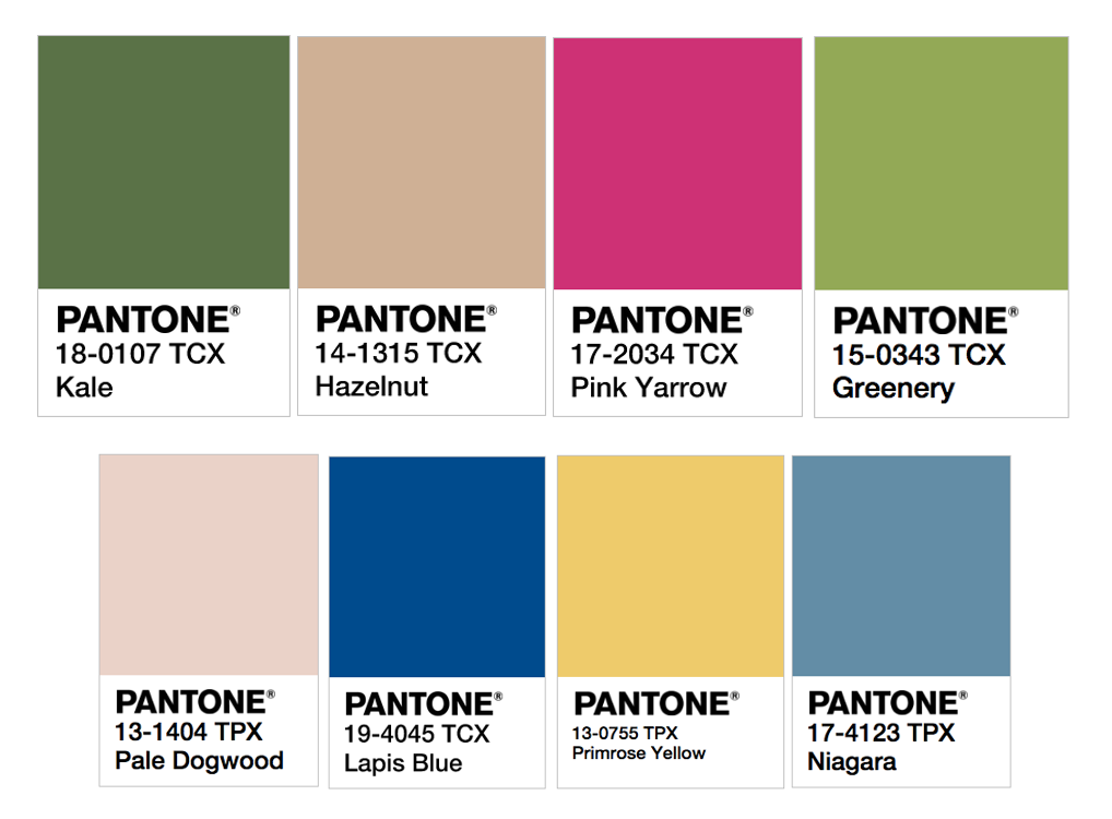 15 Presentation Templates Based On Pantones Colors For 2017