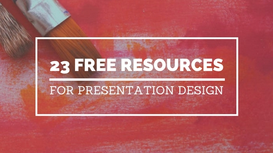 23 Free Resources For Presentation Design