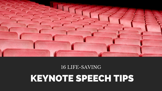 16 Life-Saving Keynote Speech Tips